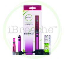 New iBreathe Electronic Cigarette Starter Kit Pink