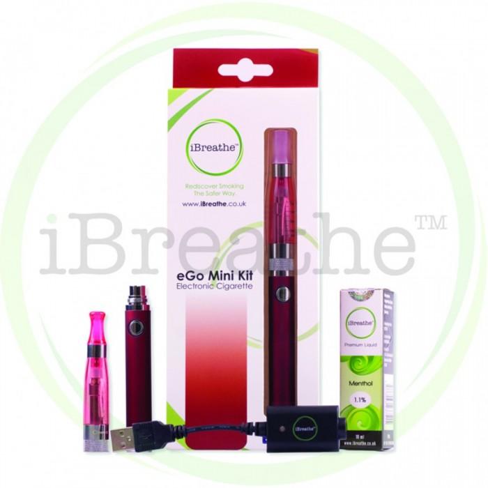 iBreathe Electronic Cigarette Starter Kit Black