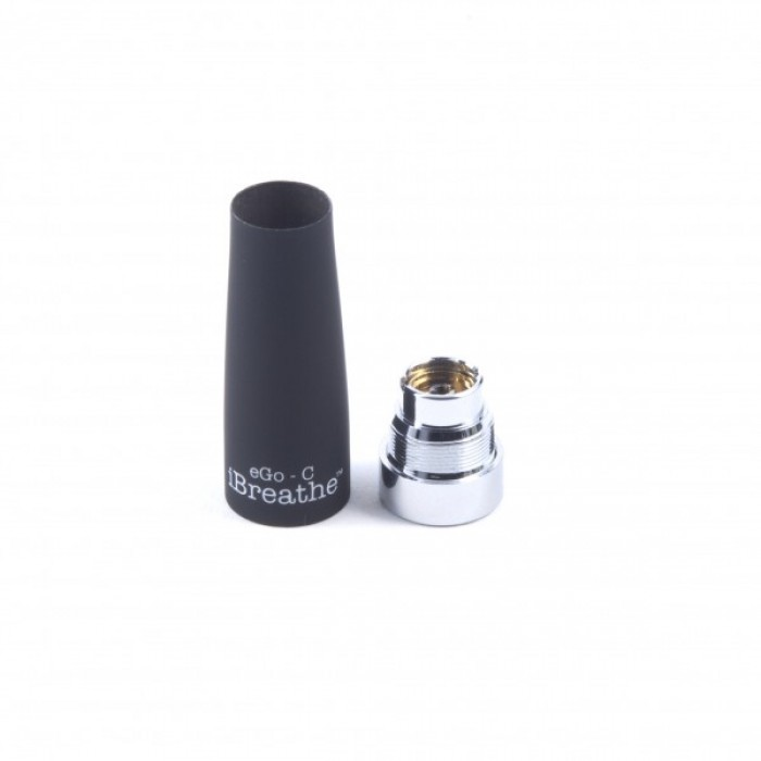 iBreathe Black EGO C Replacement Wick/Cone and Base