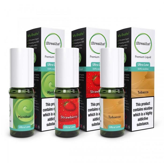 iBreathe E-Liquid - Full Box 20 Liquids