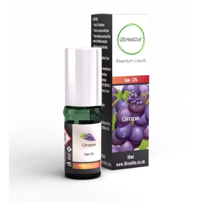 iBreathe Grape Flavour E-Liquid