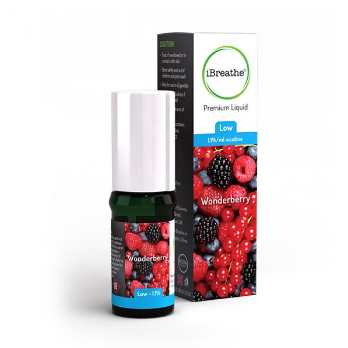 iBreathe Wonderberry Flavour E-Liquid