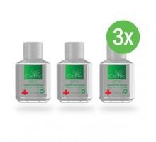3x iCleanse Antiseptic Hand Sanitiser Gel